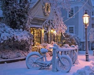 Nantucket Winter Wonderland