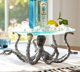 Octopus Serving Pedestal