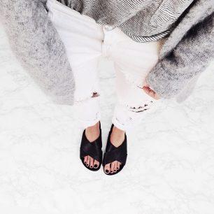 #Crisscross Sandals