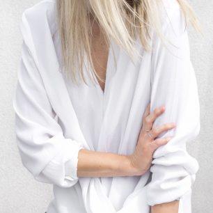 #classic white shirt