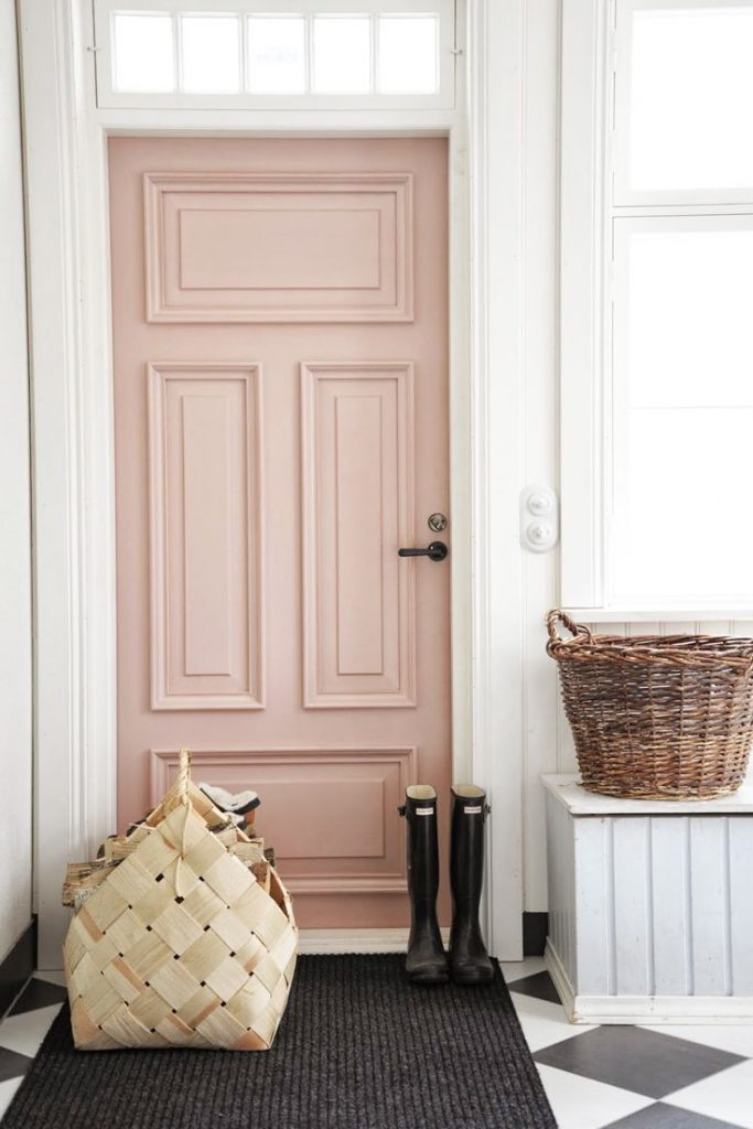 Rose-quartz-front-door