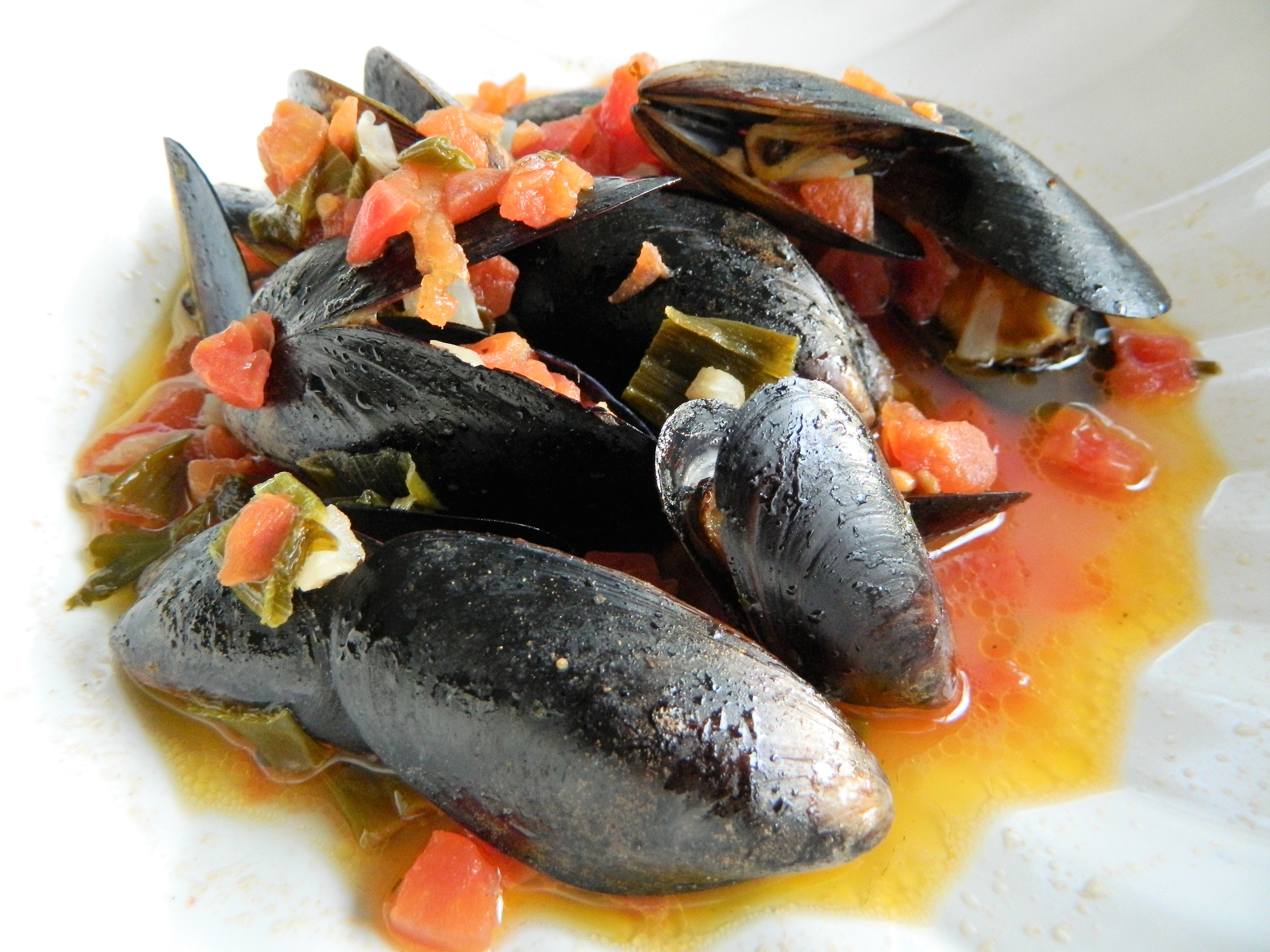 Millie's Mussels a la Mariniere