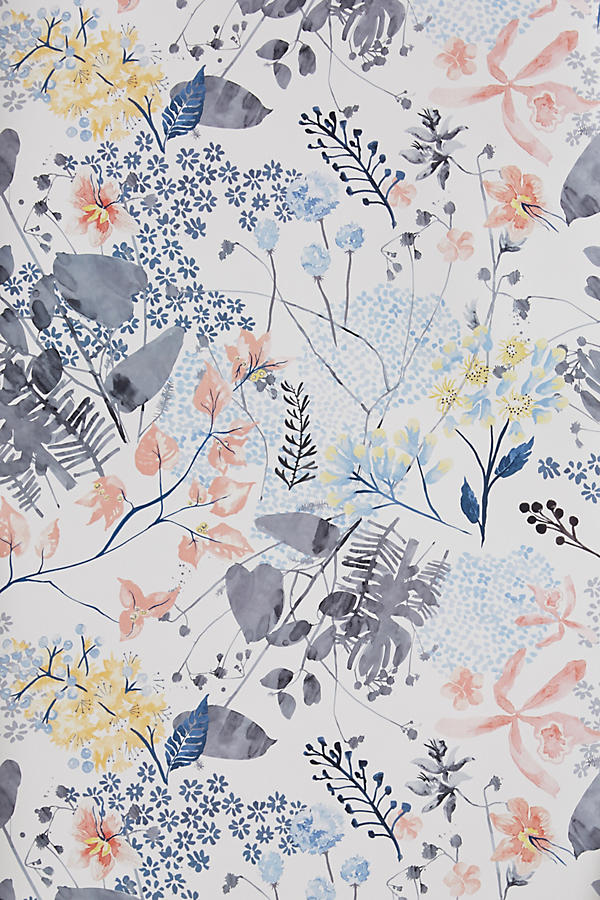 Rose Petals Wallpaper From Anthropologie