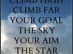 Climb High Quote